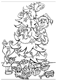 Small Picture grinch stole christmas coloring pages print how the grinch stole