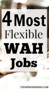4 Most Flexible Wah Jobs Crowd Work News