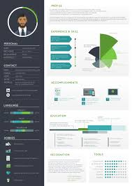 Free Infographic Resume Templates Free Infographic Resume Psd Template Therpgmovie 33