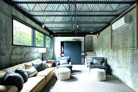 corrugated sheet metal ceiling rustic trim