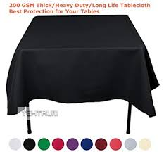 70 x square tablecloth attractive amazon tektrum inch x70 square polyester tablecloth in 18 t