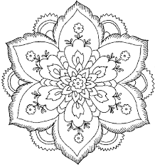 New Free Printable Flower Coloring Pages For Adults Free Coloring Book