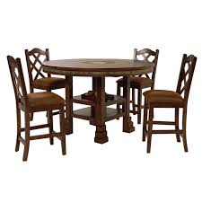 Santa Fe 5Piece High Dining Set main image 1 of 13 images