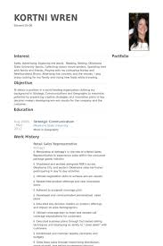 Sales Rep  Resume Samples   VisualCV Resume Samples Database