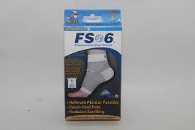 New Orthosleeve Fs6 Compression Foot Sleeve Pair Assorted