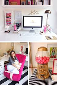 White And Gold Decor My Black White Gold Magenta Office Reveal How I Designed It