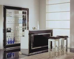 custom home bar furniture. furniture luxury glass home bar with stool using black leather seat builtin cabinets for plus custom