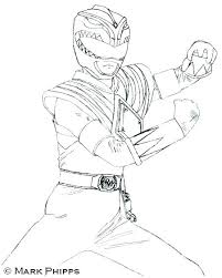 Mighty Morphin Power Ranger Coloring Pages Mighty Power Rangers