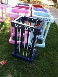 My Zoo: Tall Animal Storage Cage/ Order before NOV 1 for Christmas by  PickleToe on Etsy