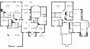 modern home plans 4 bedrooms best of 2 story 5 bedroom house floor plans mansion house plans 8 bedrooms