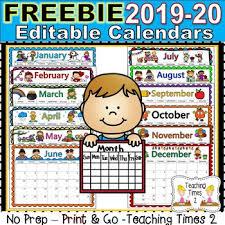 2020 Calendar Editable Editable Calendar 2020 2020 Calendar