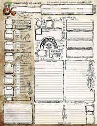dungeons and dragons character sheet online petroglyph style character sheet dungeon masters guild dungeon