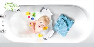 this bathtub divider makes bathing your baby so much easier