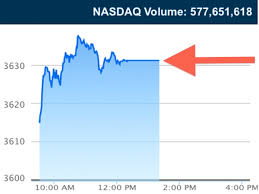 Nasdaq Quote Amazing NASDAQ HALTS TRADING FOR THREE HOURS Business Insider