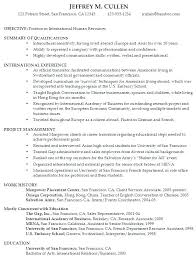 College Graduate Resume Examples Example Of College Resume Sample