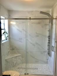 shower doors mirrors home garden in fl frameless shower doors miami frameless shower enclosures miami