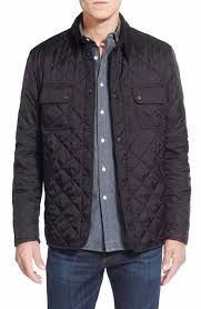 Men's Quilted, Puffer & Down Jackets | Nordstrom & Barbour 'Tinford' Regular Fit Quilted Jacket. BLACK; NAVY Adamdwight.com