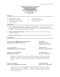 Counseling Psychologist Sample Resume Licensed Professional Counselor Resumes Bongdaao 74