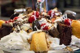 Everything But The Kitchen Sink Ice Cream Kitchen Sink Sundae At The Kitchen Sink Dessert