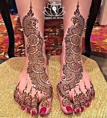 Elaborate Henna Designs 30 Mind Blowing Leg And Foot Mehndi Designs For Brides