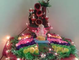 homemade ganpati decoration ideas decoration and craft