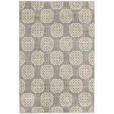 es medallion grey 10 ft x 12 ft area rug