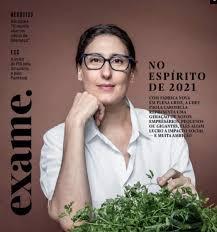 Chef Paola Carosella na Exame | Michelle Marie - Navegue com estilo