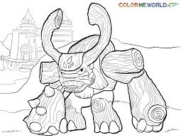 Tree Rex Coloring Page