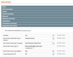 email setup for magento shipperhq docs semailsetup
