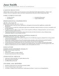 Writing A Good Objective For Resume Best of Customer Service Objectives For Resumes Customer Service Resume