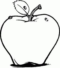 Manzanas Para Colorear Manzanas Para Colorear