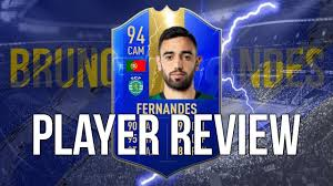 FIFA 19 - TOTS BRUNO FERNANDES (94) PLAYER REVIEW