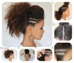 Photo Coiffure Afro Femme Facile Coupe De Cheveux Creation