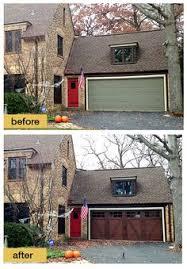 diy faux wood garage doors. Black Garage Door Ideas For Brick Home And Modern | Idée De Porte Noire Avec Maison En Brique Style Moderne The Pinterest Diy Faux Wood Doors I