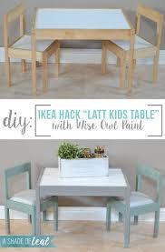 ikea playroom furniture. IKEA Hack- Latt Kids Table Makeover | A Shade Of Teal Ikea Playroom Furniture E
