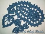 Вязание ирландские кружева элементы