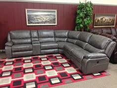 reclining sectional grey. Plain Reclining Recline U0026 Relax In Luxury With Our New Midas Power Sectional Stocked  This Supple For Reclining Sectional Grey I