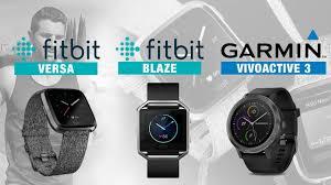 Fitbit Garmin Comparison Chart Fitbit Versa Vs Blaze Garmin Vivoactive 3 Rizknows
