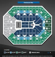 Fleetwood Mac Sprint Center Seating Chart An Evening With Fleetwood Mac Target Center