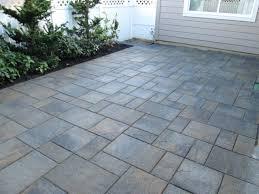paver patios interlocking concrete
