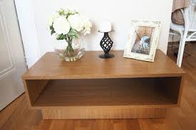 new home cubes 1 shelf coffee table oak effect from argos
