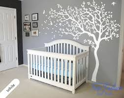 huge white tree wall decal nursery tree