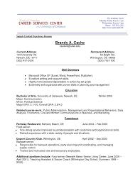 Job Experience Resume Template Best Of Job Experience Resume