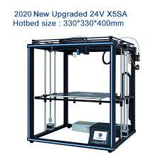X5SA Auto 500 CoreXY <b>Tronxy</b> Printers| leveling|3D <b>Large</b> Printer ...