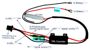 daytime running lights wiring diagram daytime high intensity discharge hid xenon bulbs and ia drivers on daytime running lights wiring diagram