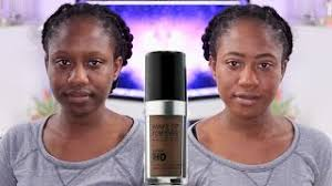 makeup forever ultra hd foundation review dark skin oily skin worth it