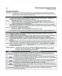 Completed Employee Self Evaluation Review Comments Examples ...