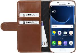 preview stilgut samsung galaxy s7 edge leather cover talis card holder