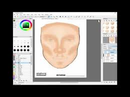 James Face Chart James Charles Face Chart Youtube