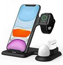 Pulse <b>4 in 1</b> Wireless Charger <b>Multifunctional</b> Fast Charging Stand ...